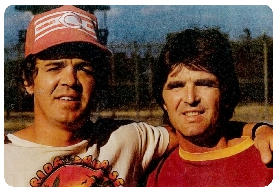 Stephen Reid, left, and Paddy Mitchell at the Millhaven Institution, in Ontario, in the mid-1970s. Photo: Courtesy of Kevin Mitchell