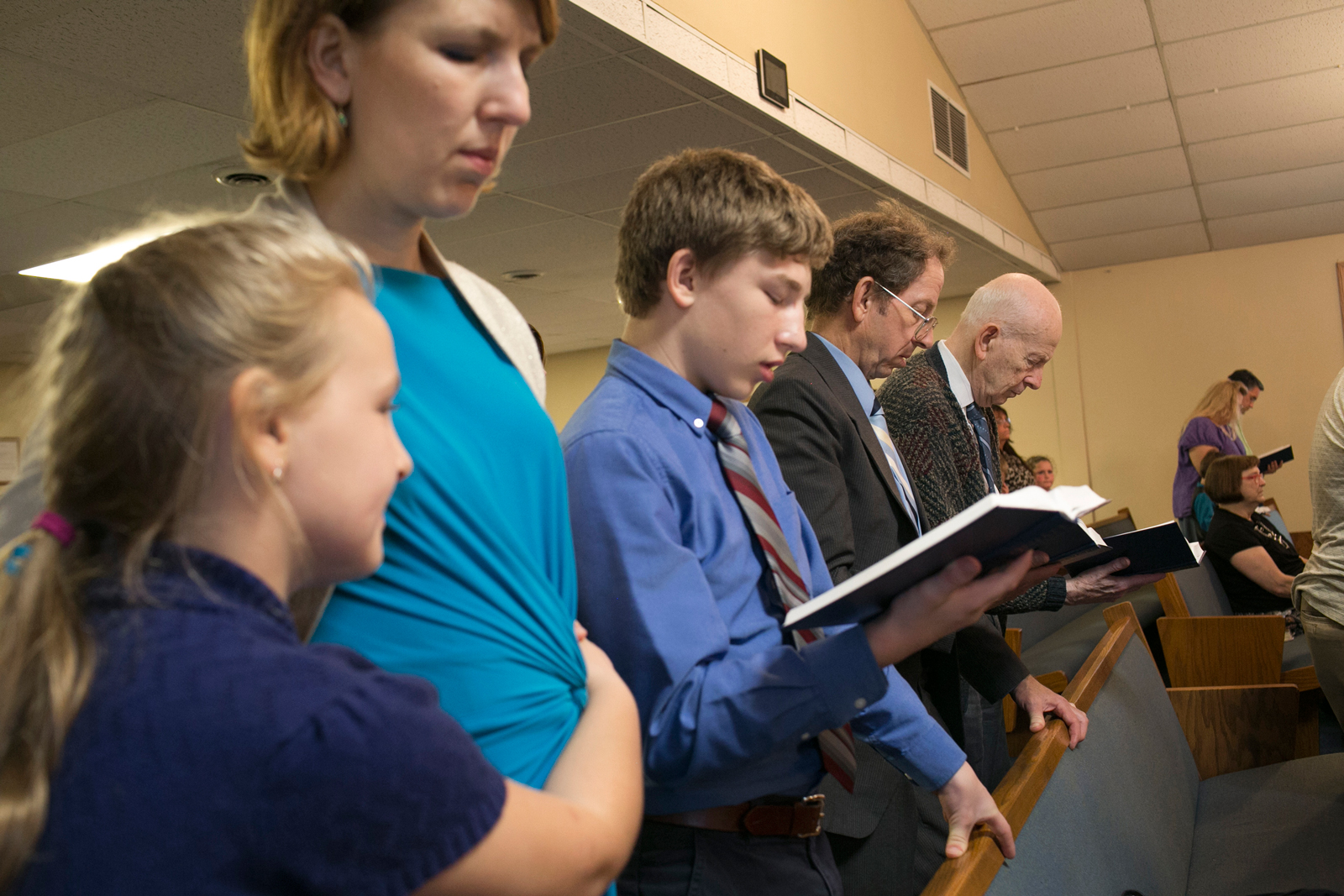 Fowle and his family attendevening services atBethel Baptist Church.